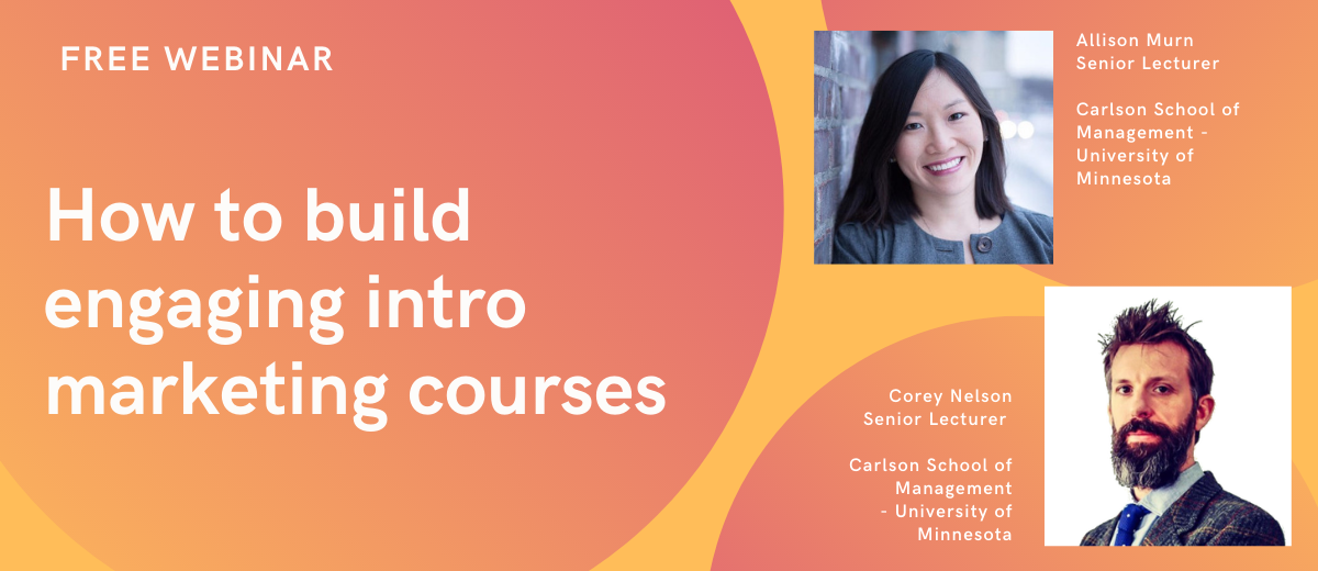 How to build engaging intro marketing courses