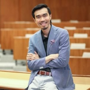 Professor Lewis Lim from Nanyang Business School