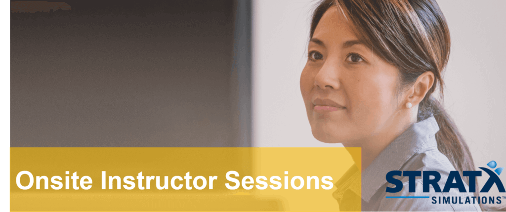 Onsite Instructor Sessions